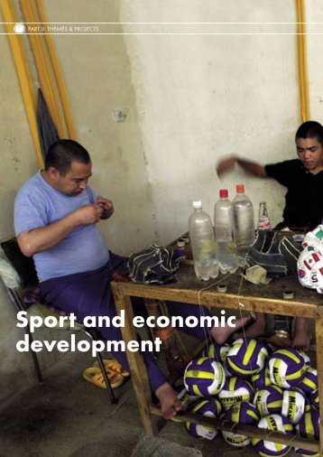 Sport and economic development - IDHEAP