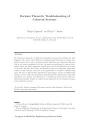 Decision Theoretic Troubleshooting of Coherent Systems - CiteSeerX