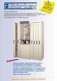 Bestellung – bitte ausfüllen und per Fax an - Boerkey