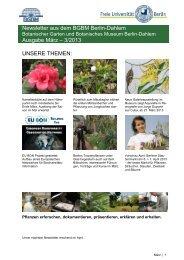 Newsletter aus dem BGBM Berlin-Dahlem Ausgabe März – 3/2013 ...