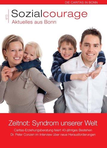 Sozialcourage 4/2013 - Erzbistum Köln