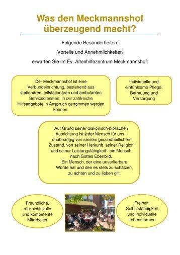 Was Sie in unserem Meckmannshof überzeugt - layout 2x