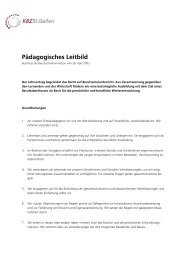 Pädagogisches Leitbild