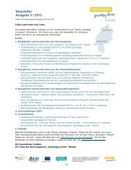 Newsletter Ausgabe 3 / 2013 - Ganztägig Lernen - Hessen