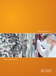 Annual Report 2011 - Boehringer Ingelheim
