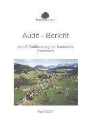 Audit - Bericht