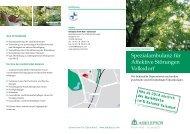 Spezialambulanz für Affektive Störungen Volksdorf - Asklepios