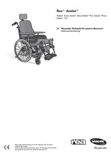 1491350_Bedienungsanleitung_Rea Azalea_11.2013.pdf - Invacare