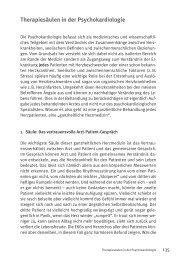 Therapiesäulen in der Psychokardiologie - Verlag Modernes Lernen
