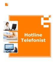 1 Hotline Telefonist:in