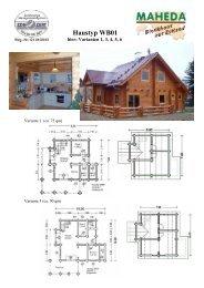 Haustyp WB01 - Blockhaus Barth