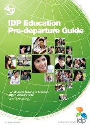 IDP Education Pre-departure Guide - Idp.com