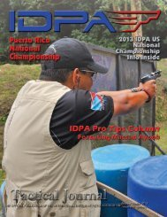 Volume: 17, Issue: 2 (2nd Quarter 2013) - IDPA.com