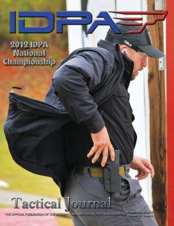 Volume: 16, Issue: 4 (4th Quarter 2012) - IDPA.com