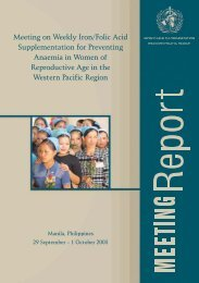 women - WHO Western Pacific Region - World Health Organization