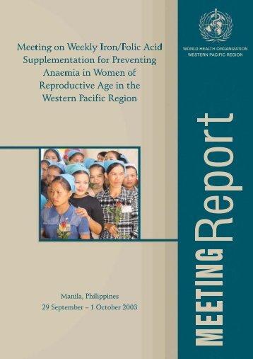 women - WHO Western Pacific Region - World Health Organization