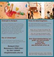 Blockpark Erfurt Motzstrasse 8, 99094 Erfurt Tel. 0361-5503692 info ...