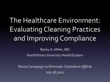 Becky Miller, M.D. - Illinois Department of Public Health