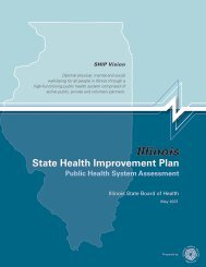 Public Health System Assessment 2007 - Illinois Department of ...