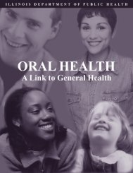 Oral Health: A Link to General Health - Illinois Department of Public ...