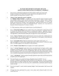 Hospice Application Licensure - Illinois Department of Public Health