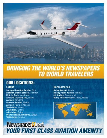 BRINGING THE WORLD'S NEWSPAPERS TO WORLD ...