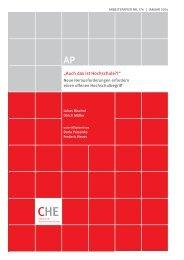 CHE AP 176 Auch das ist Hochschule.pdf - Centrum für ...