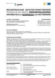 Bewerbungsinformation (pdf, 590KB) - architekturwettbewerb