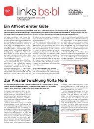 links.bs.bl, Oktober 2013 - SP Schweiz