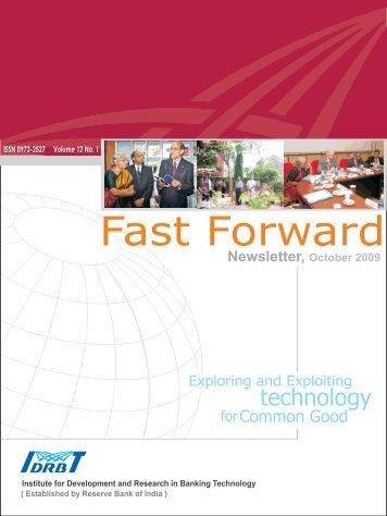 Newsletter, October 2009 - IDRBT