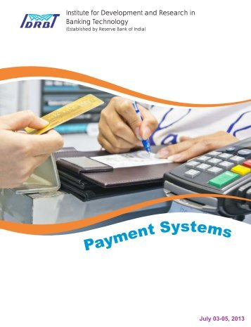 payment systems.pdf - IDRBT