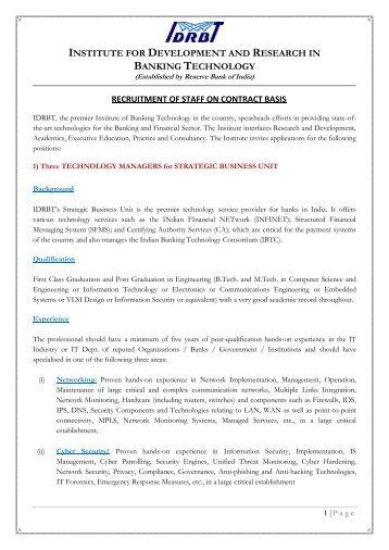 Staff Recruitment_Advt No 2_2013.pdf - IDRBT