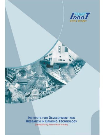 brochure single pages final.cdr - IDRBT