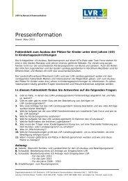 Faktenblatt zum U3-Ausbau (PDF, 80 KB) - Landschaftsverband ...