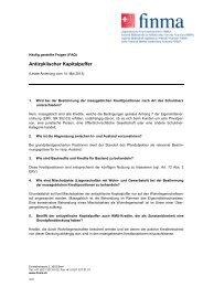 FAQ: Antizyklischer Kapitalpuffer