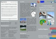 1 International Conference on Process Machine Interactions