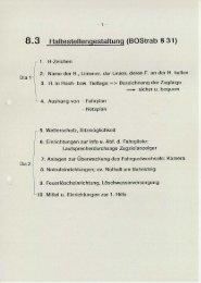 8.3 Haltestellengestaltung (BOStrab 5 31) - IDS