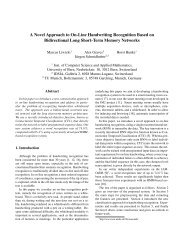 A Novel Approach to On-Line Handwriting Recognition Based ... - Idsia