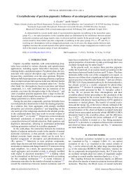 Crystallochromy of perylene pigments: Influence of an ... - Idsia