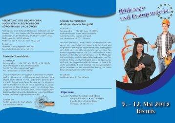 Bildungswoche 2013, Flyer_rz.indd - Stadt Idstein