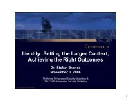 to download the presentation slides. - On the Identity Trail