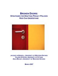 Strategies for Drafting Privacy Policies Kids Can Understand