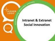 Intranet & Extranet Social Innovation