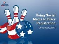 Using Social Media to Drive Registration