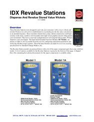 PDF Brochure - IDX Inc