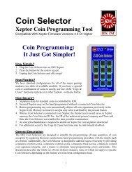 Coin Selector - IDX Inc