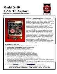 IDX Xeptor Manual - IDX Inc