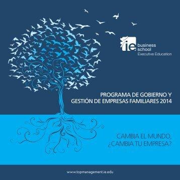 Folleto Programa Empresa Familiar[pdf] - IE