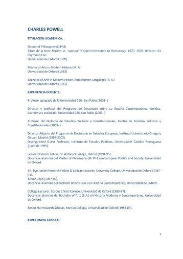 CV completo - IE
