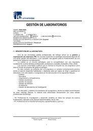 GESTIÓN DE LABORATORIOS - IE